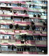 Hong Kong Apartment 18 Acrylic Print