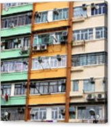 Hong Kong Apartment 9 Acrylic Print