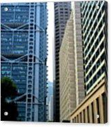 Hong Kong Architecture 49 Acrylic Print