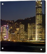 Hong Kong Harbor December 1 Acrylic Print