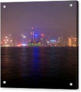Hong Kong Harbor December 2 Acrylic Print