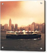 Hong Kong Harbour 01 Acrylic Print