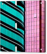 Hong Kong Offices Acrylic Print