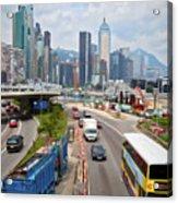 Hong Kong Traffic II Acrylic Print