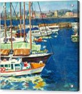 Hong Kong Victoria Harbor Acrylic Print