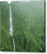 Honokohau Falls Acrylic Print