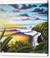 Honolua Bay Acrylic Print