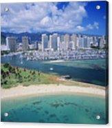Honolulu, Oahu Acrylic Print