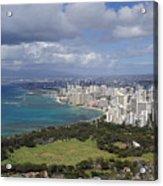 Honolulu Oahu Hawaii Acrylic Print