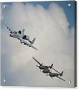 Honor Flight Acrylic Print