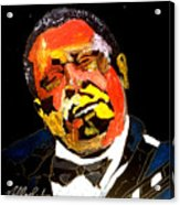 Honoring The King 1925-2015 Acrylic Print