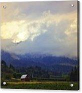 Hood River - Season Of Beauty Acrylic Print