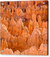 Hoodoos And Other Eroded Cliffs Light Acrylic Print