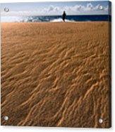 Ho'okahi - A Stroll Along A Beach Acrylic Print