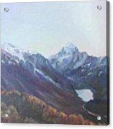 Hookers Valley New Zealand Acrylic Print