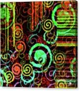 Hoopla Acrylic Print