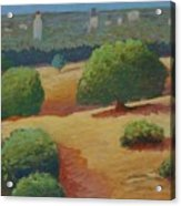 Hoover Tower In Sight Acrylic Print