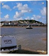 Hope Appledore Devon Acrylic Print