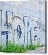 Hope For Paradise Acrylic Print by Lynda Dawson-Youngclaus