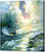 Hope In The Storm I Acrylic Print