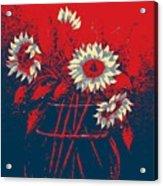 Hope Sunflowers  Acrylic Print