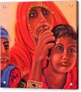 #hopeful In India Acrylic Print