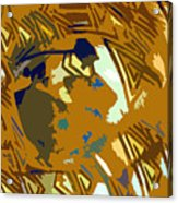 Hopi Flute Player Acrylic Print