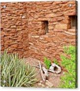 Hopi House Garden Acrylic Print