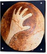 Hopi Jar Fragment Acrylic Print