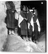 Hopi Maidens, 1906 Acrylic Print by Granger