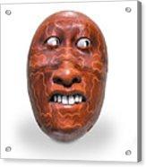 Hopi Mask Three Acrylic Print