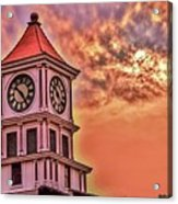 Hoptown Time Acrylic Print