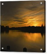 Horicon Lake, Lakehurst, Nj Acrylic Print