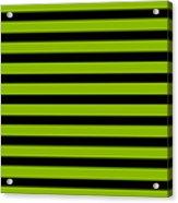 Horizontal Black Inside Stripes 09-p0169 Acrylic Print