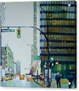 Hornby Street Acrylic Print