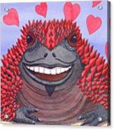 Horny Toad Acrylic Print