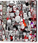 Horror Icons Acrylic Print
