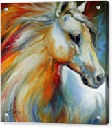 Horse Angel No 1 Acrylic Print