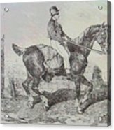 Horse Carriage Acrylic Print