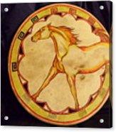 Horse Drum Acrylic Print