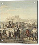 Horse Fair On Bruntsfield Links, Edinburgh Acrylic Print