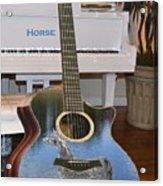Horse Guitar Acrylic Print