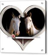 Horse Lovers Acrylic Print