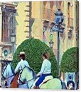 Horse Riding 2 Acrylic Print