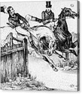 Horseback Riders, C1840 Acrylic Print