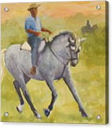 Horseman 3 Acrylic Print