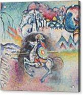 Horseman. St. George Acrylic Print