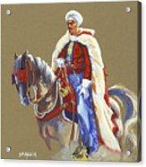 Horseriding Spahi Recruit Acrylic Print
