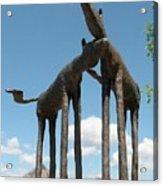 Horses In Sedona Acrylic Print