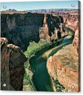Horseshoe Bend Arizona Colorado River  Acrylic Print